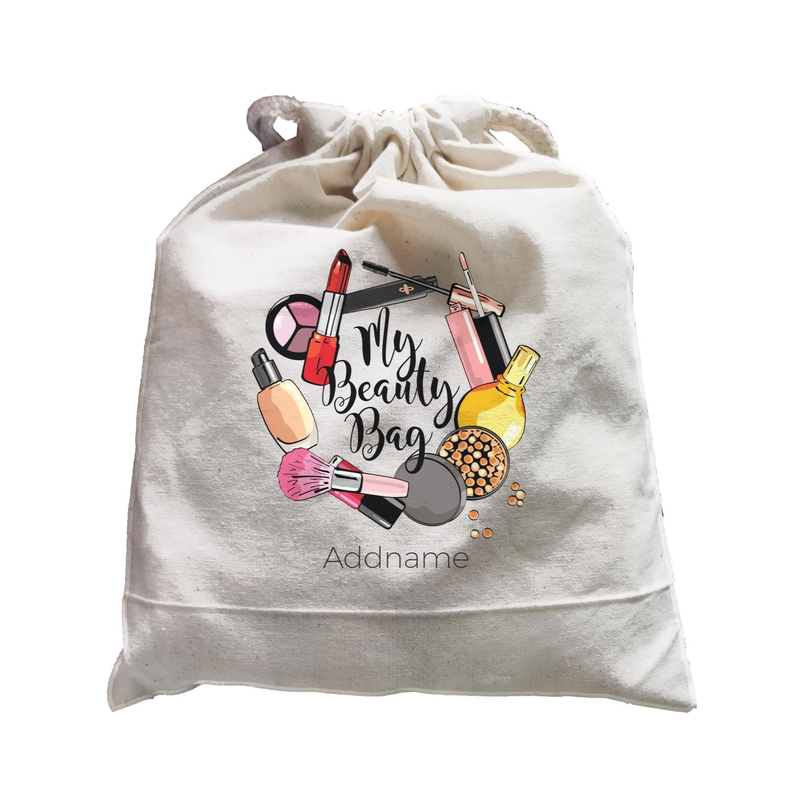 Make Up Quotes Make My Beauty Bag Addname Satchel