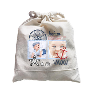 Photo Gift Series Cute Sailor Baby Boy Satchel