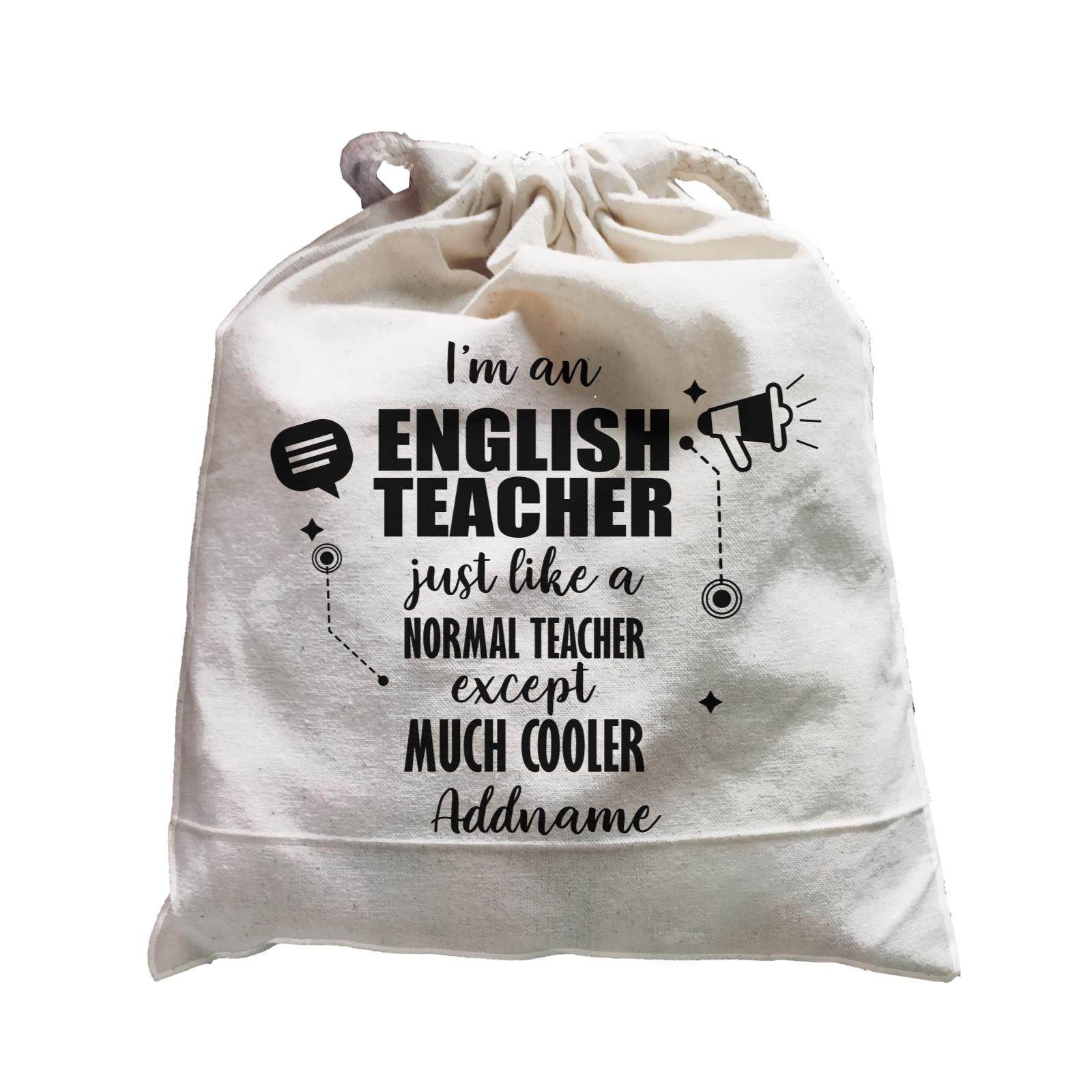 Subject Teachers 3 I'm A English Teacher Addname Satchel