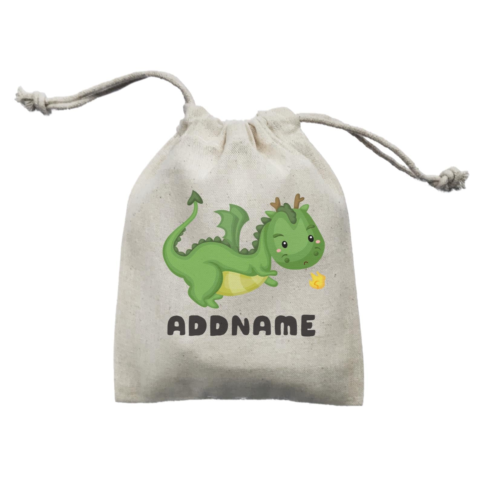 Birthday Royal Dragon Breathing Fire Addname Mini Accessories Mini Pouch
