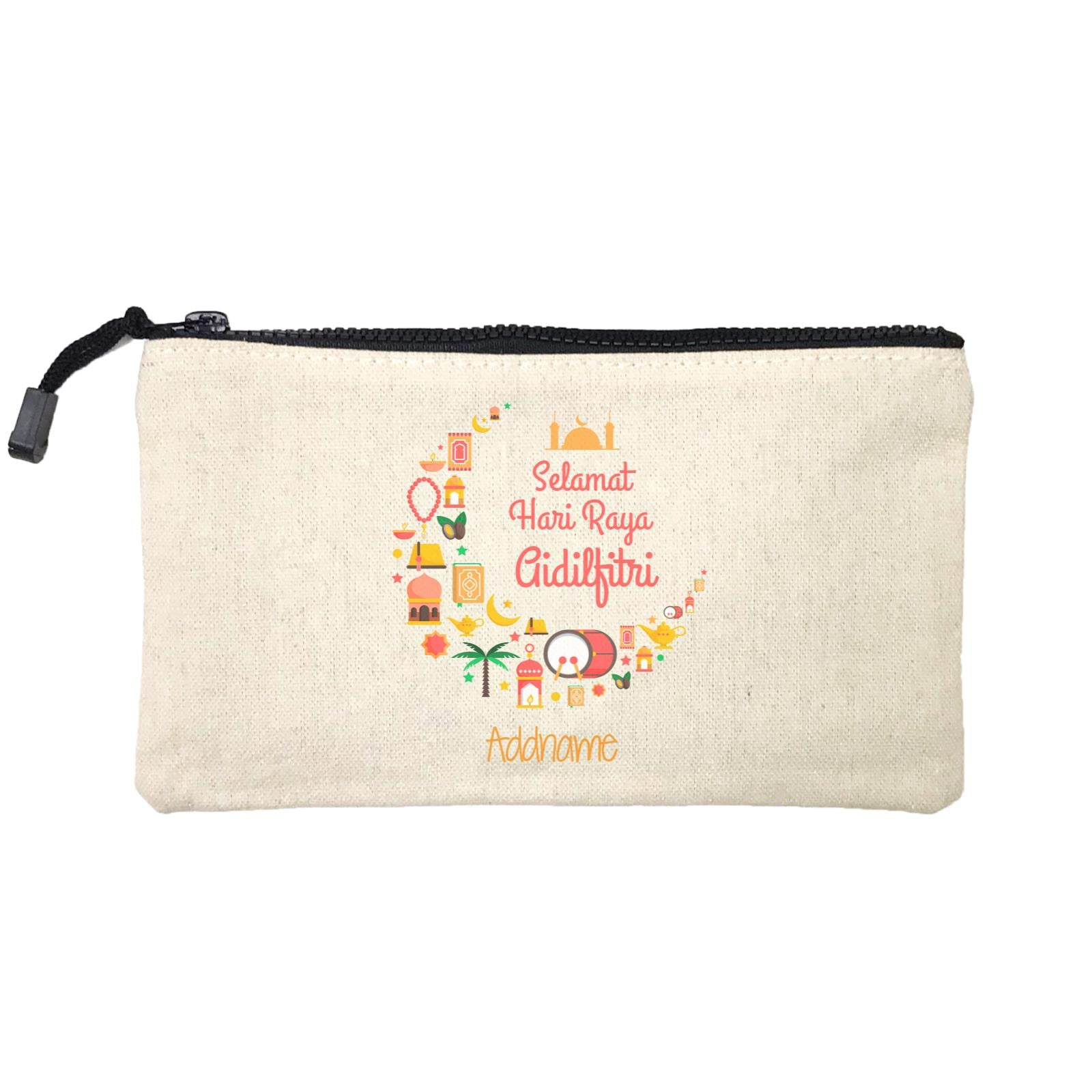 Raya Moon Raya Icons Selamat Hari Aidilfitri Addname Mini Accessories Stationery Pouch