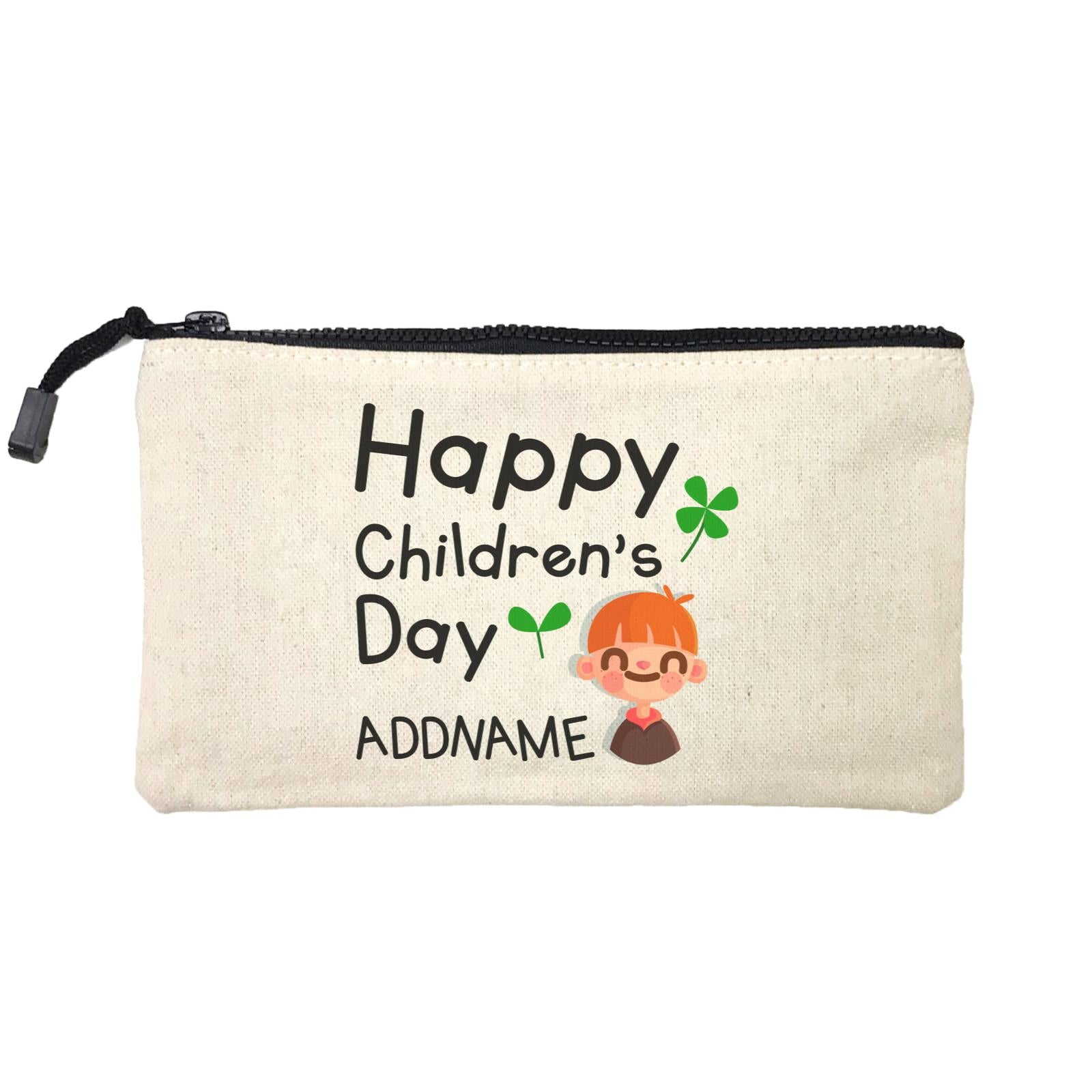 Children's Day Gift Series Happy Children's Day Cute Boy Addname SP Stationery Pouch