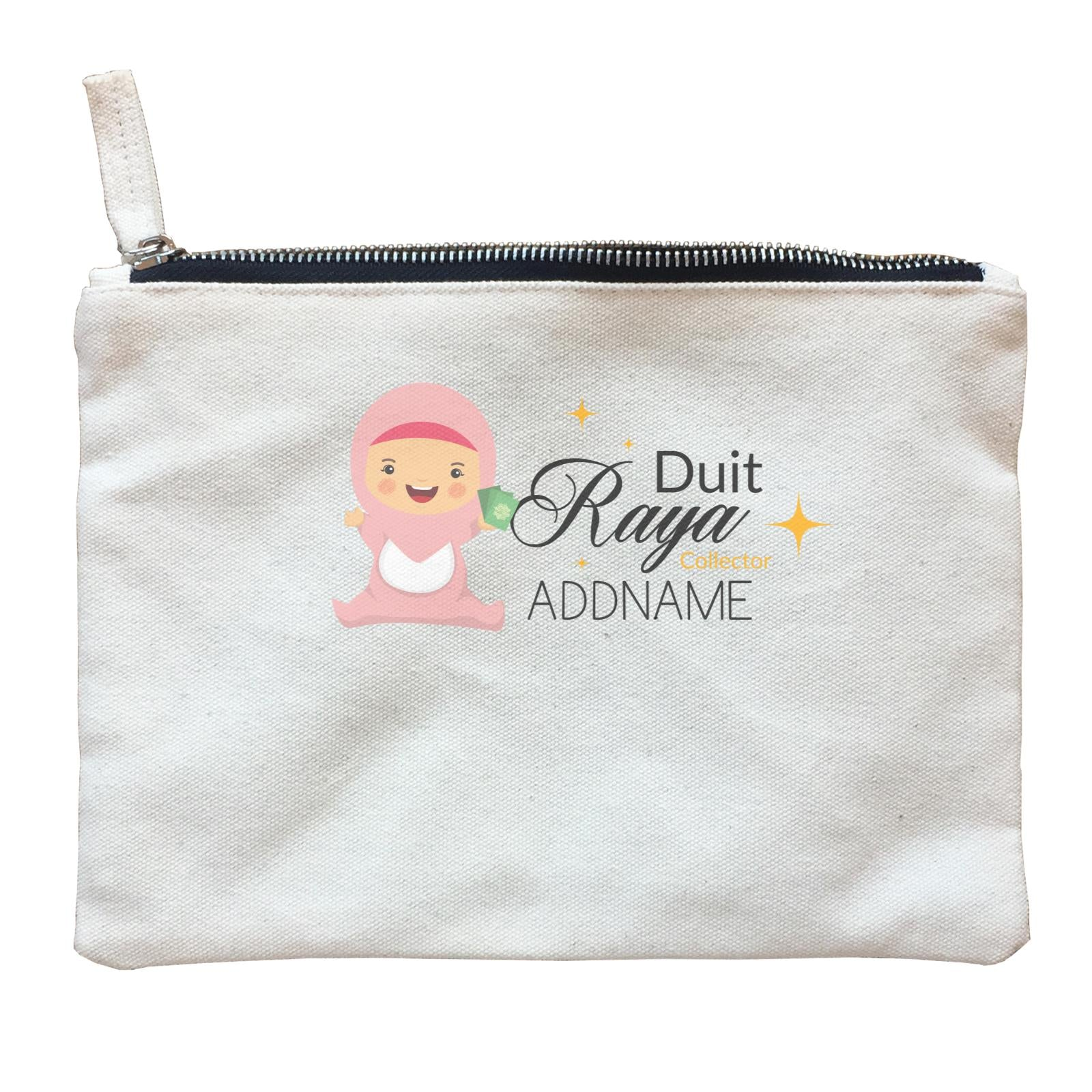 Duit Raya Collector Baby Girl Zipper Pouch