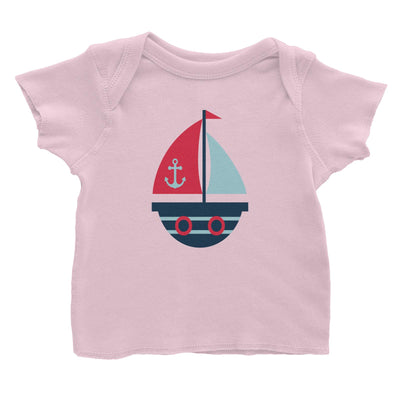 Sailor Boat Baby T-Shirt  Matching Family Personalizable Designs