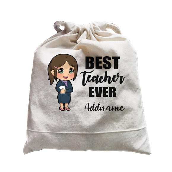 Chibi Teachers Chinese Woman Best Teacher Ever Addname Satchel