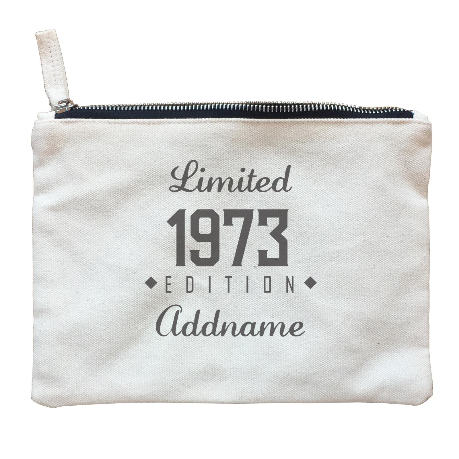 Personalize It Birthyear Limited Edition Diamond with Addname and Add Year Zipper Pouch