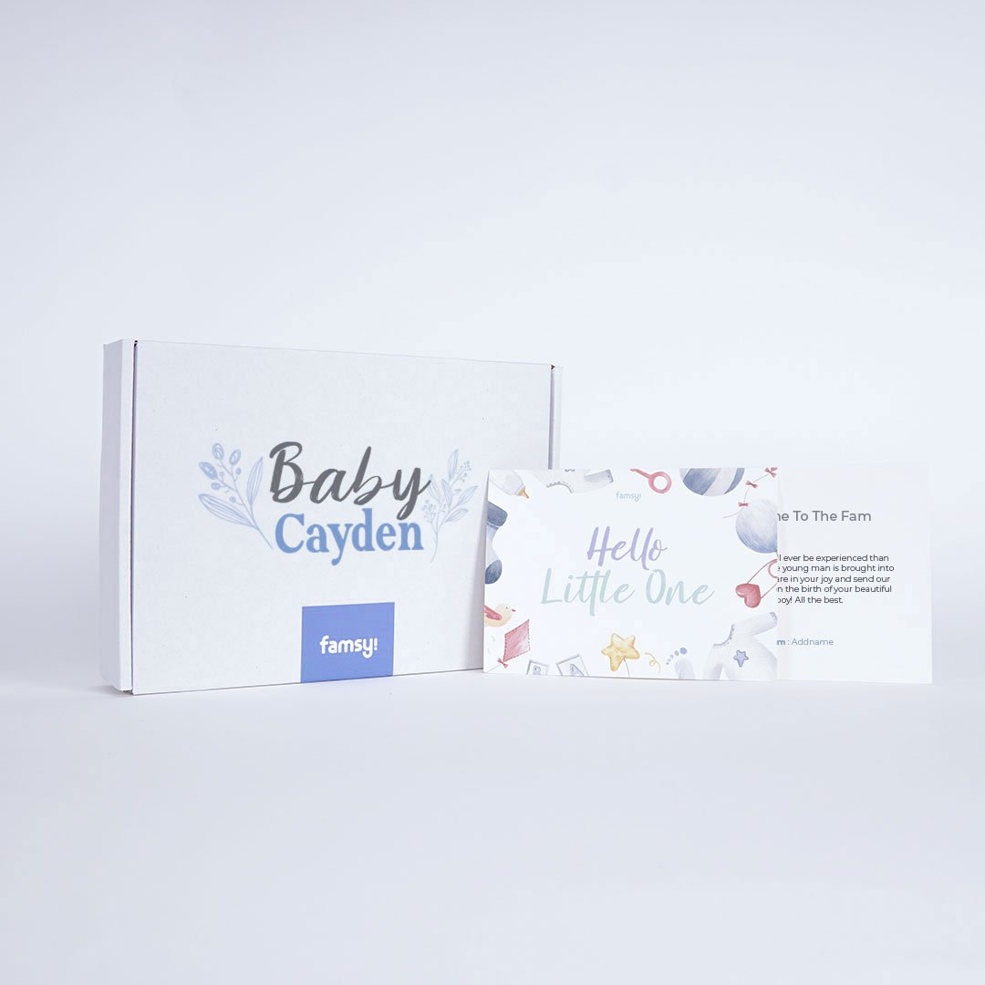 Signature Baby Boy Name Box