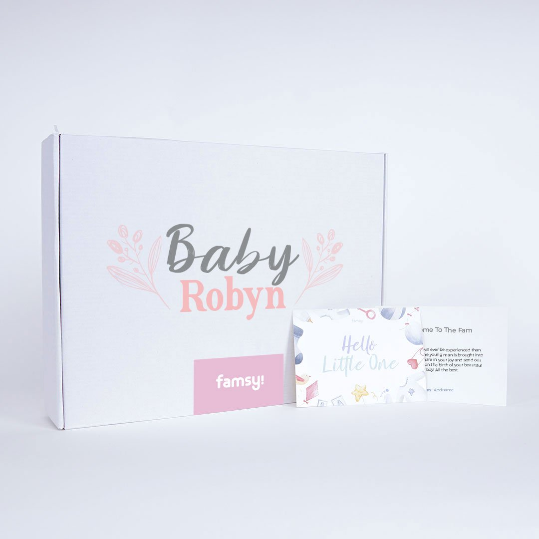 Signature Baby Girl Name Box