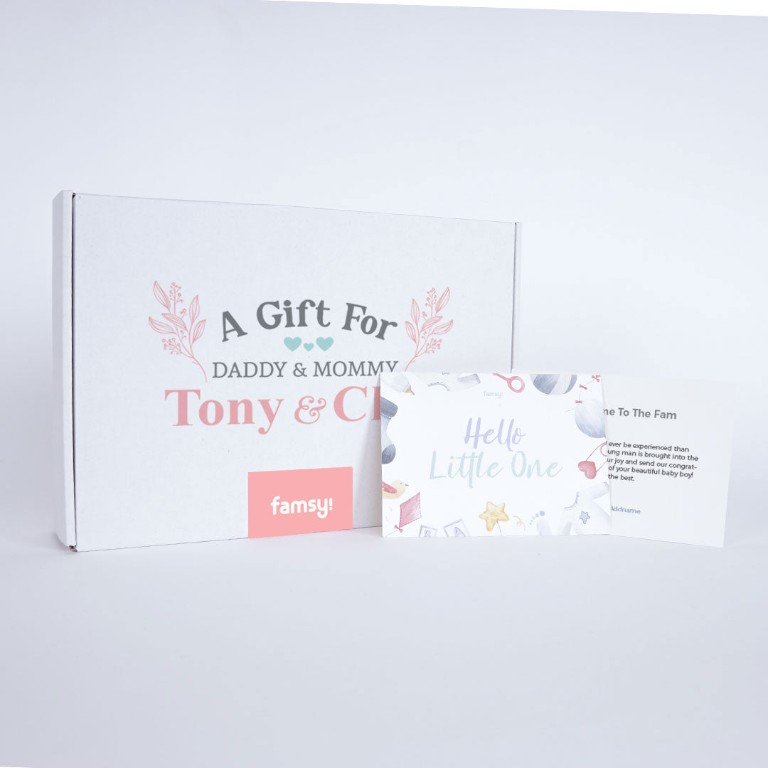 Girl Personalise Daddy & Mommy Gift Box GB