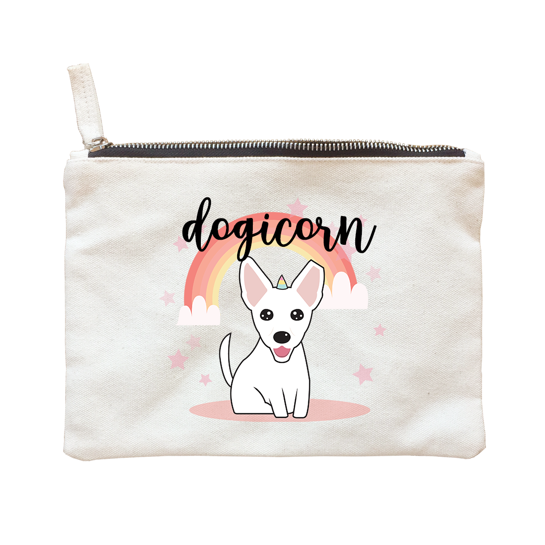 Sherlyn Mama Cute Dogicorn Edition Accessories Zipper Pouch