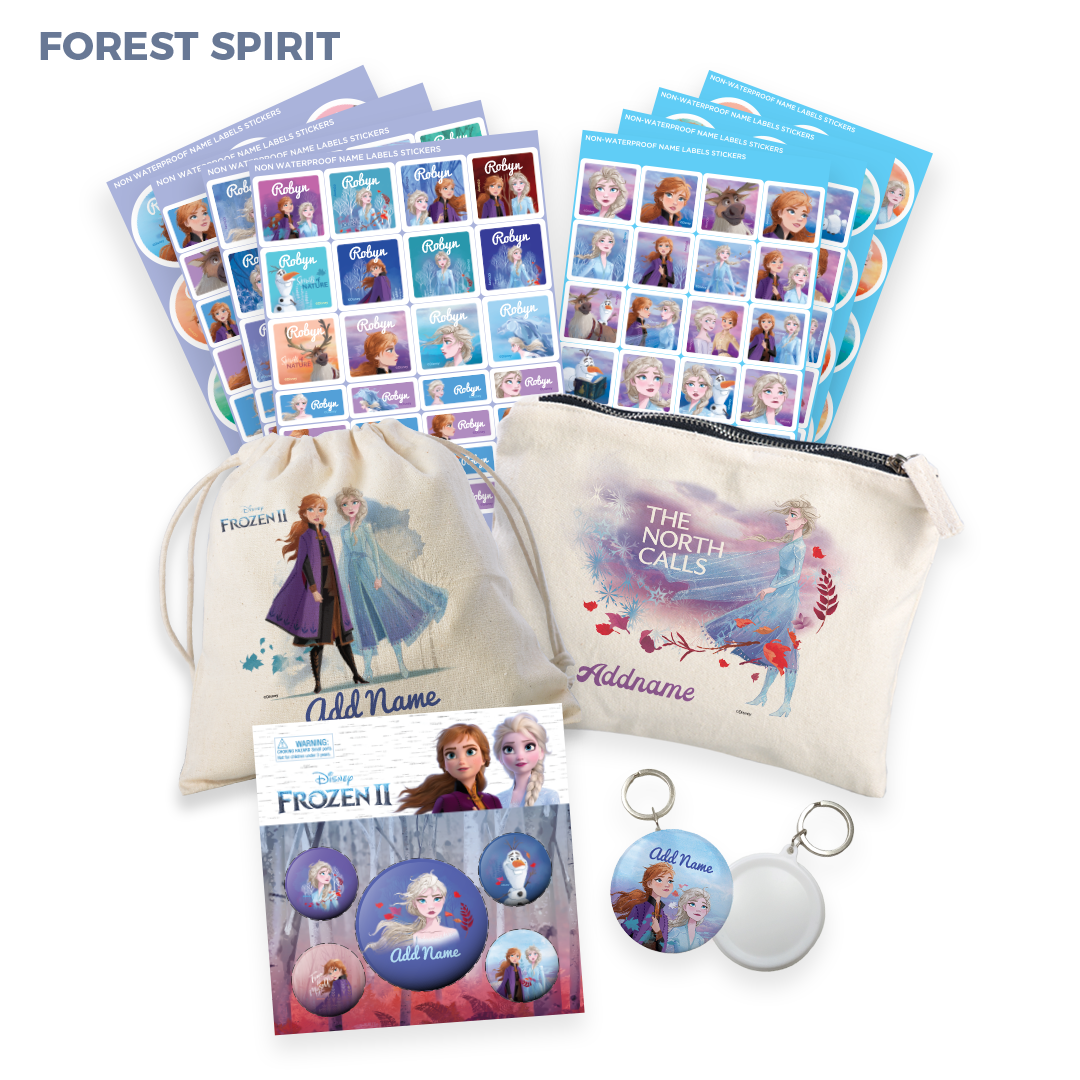 Frozen 2 Collectible Bundle -Forest Spirit Range (Limited Edition)