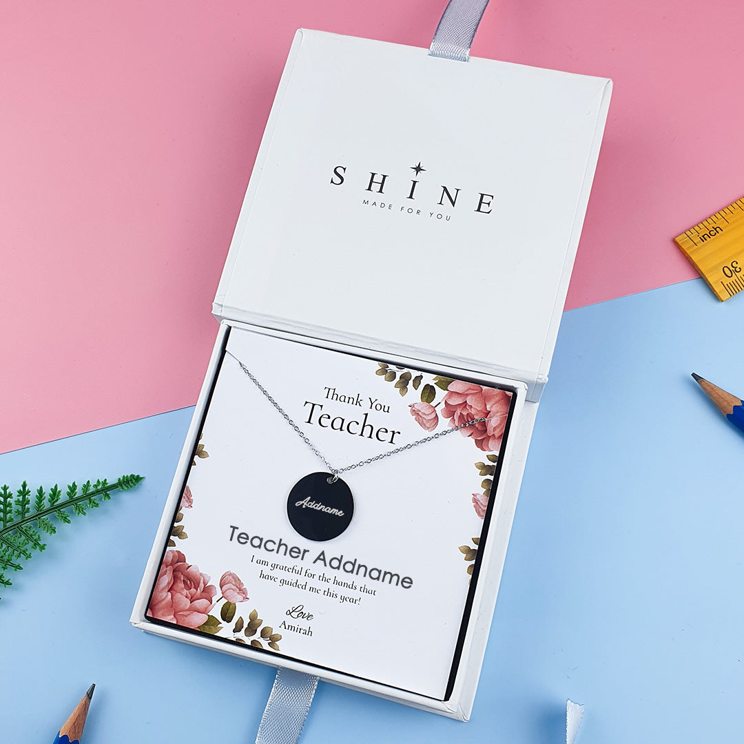 Necklaces  + Shine Necklace Card