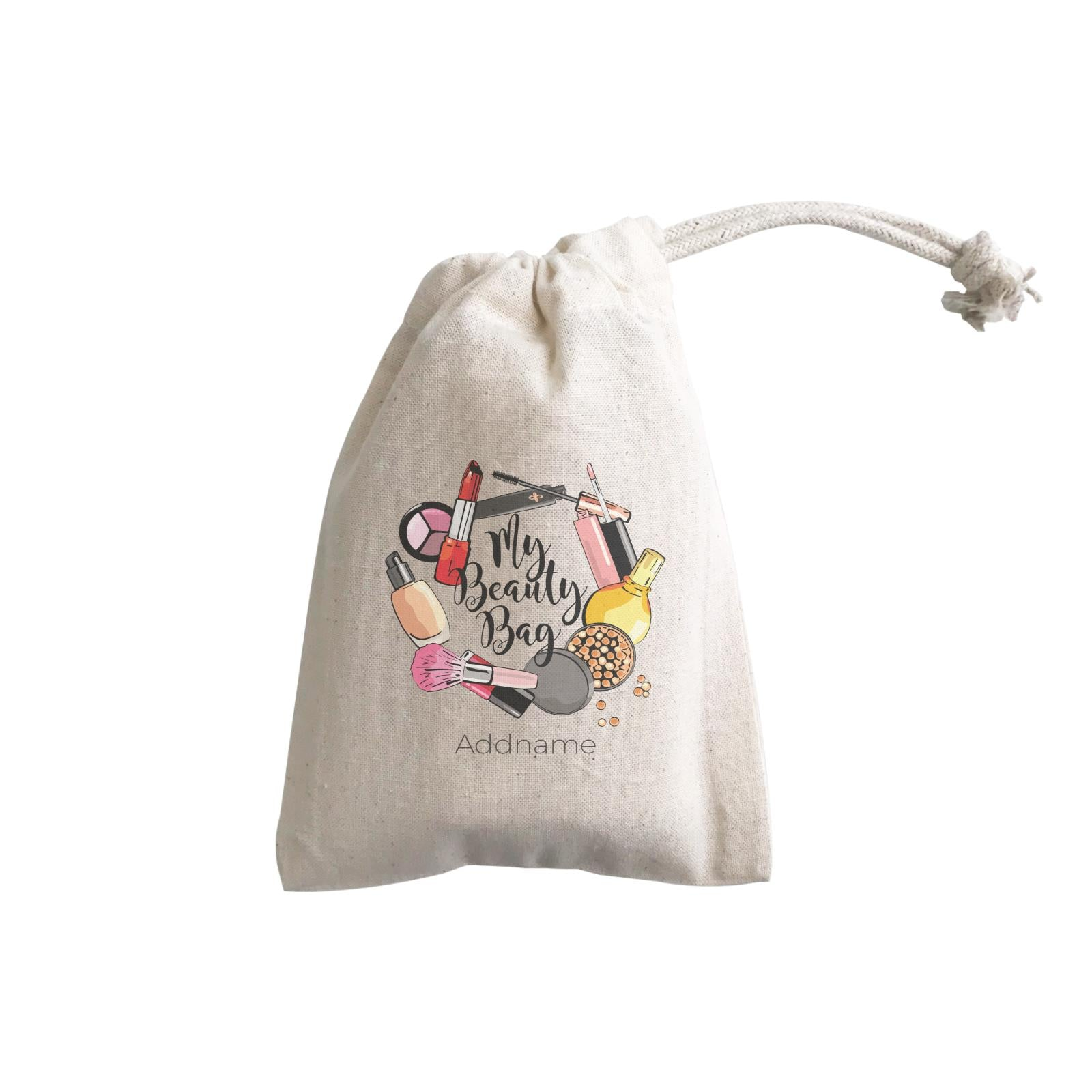 Make Up Quotes Make My Beauty Bag Addname GP Gift Pouch