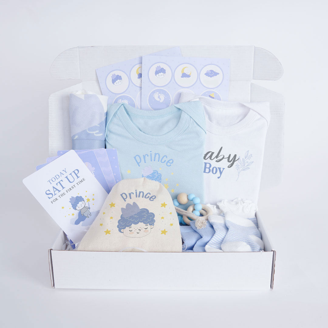 Non-personalized Baby Boy Premium Box Set
