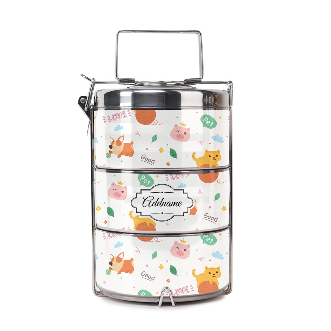 Cat And Friends Tiffin Carrier