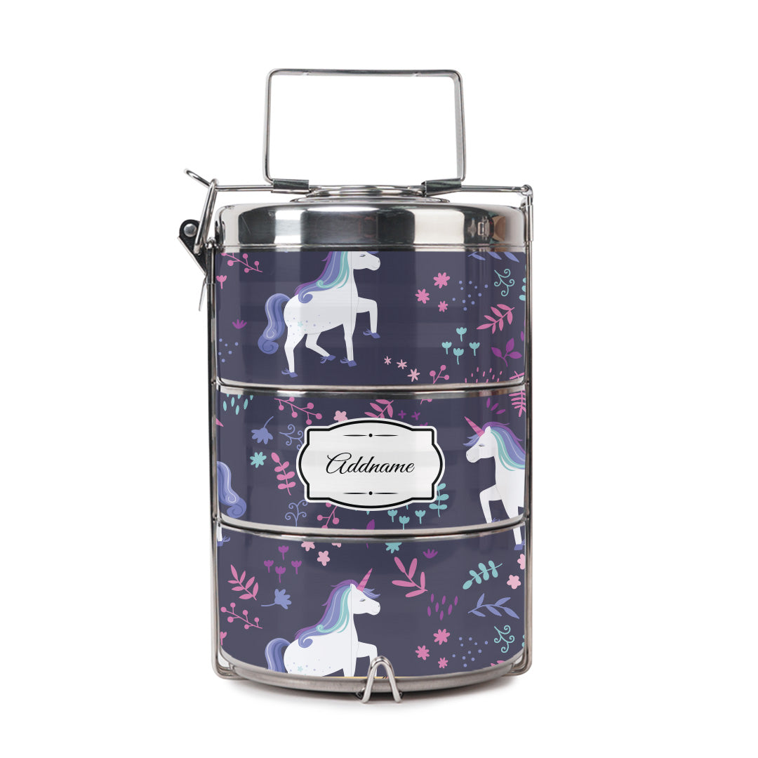 Graceful Unicorn Tiffin Carrier