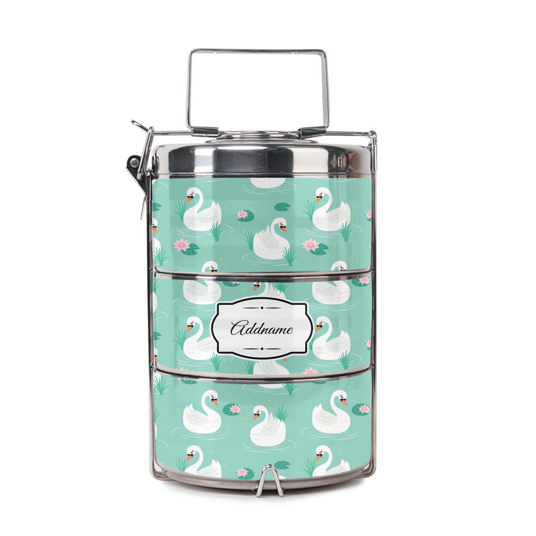 Elegant Swan Tiffin Carrier