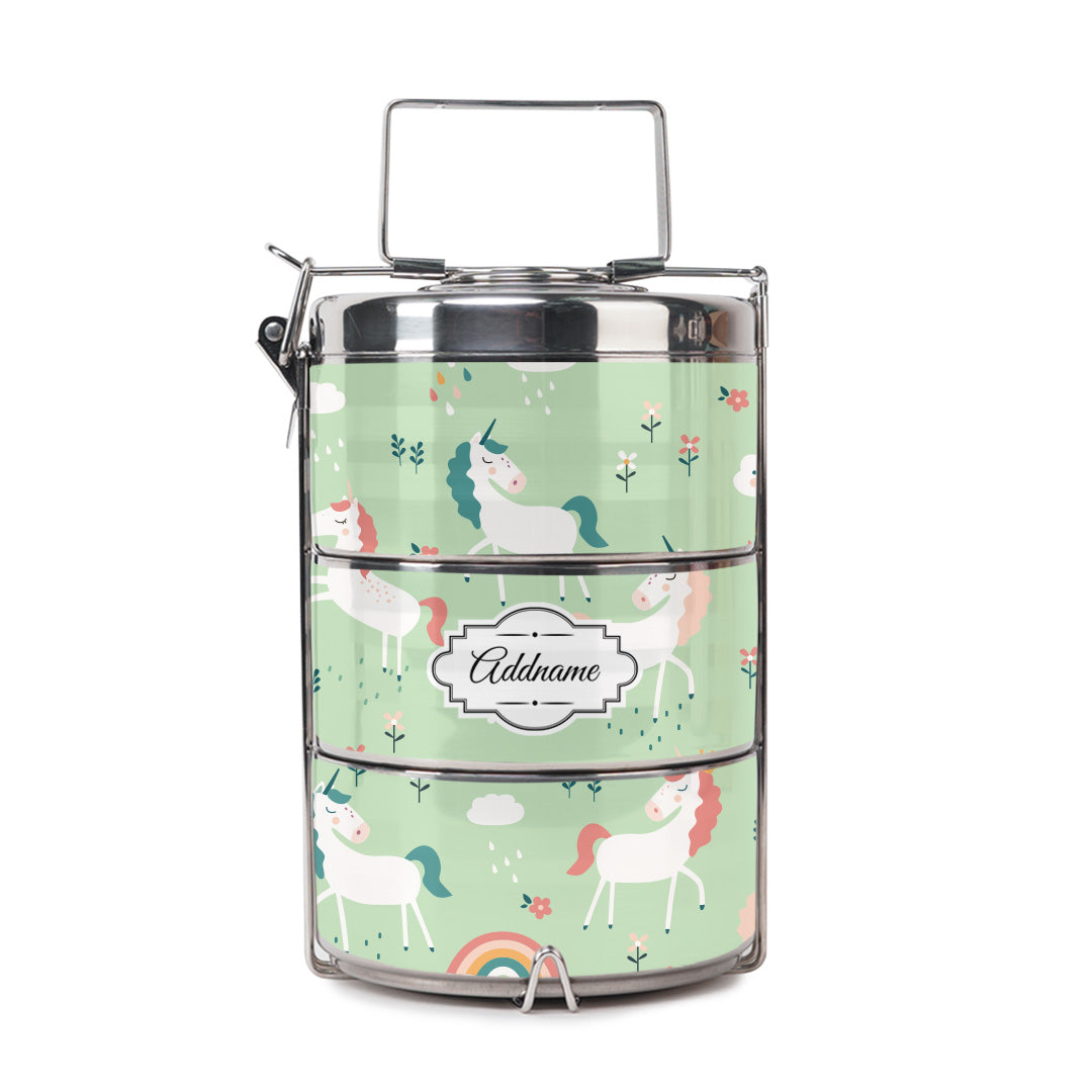 Pastel Unicorn Tiffin Carrier