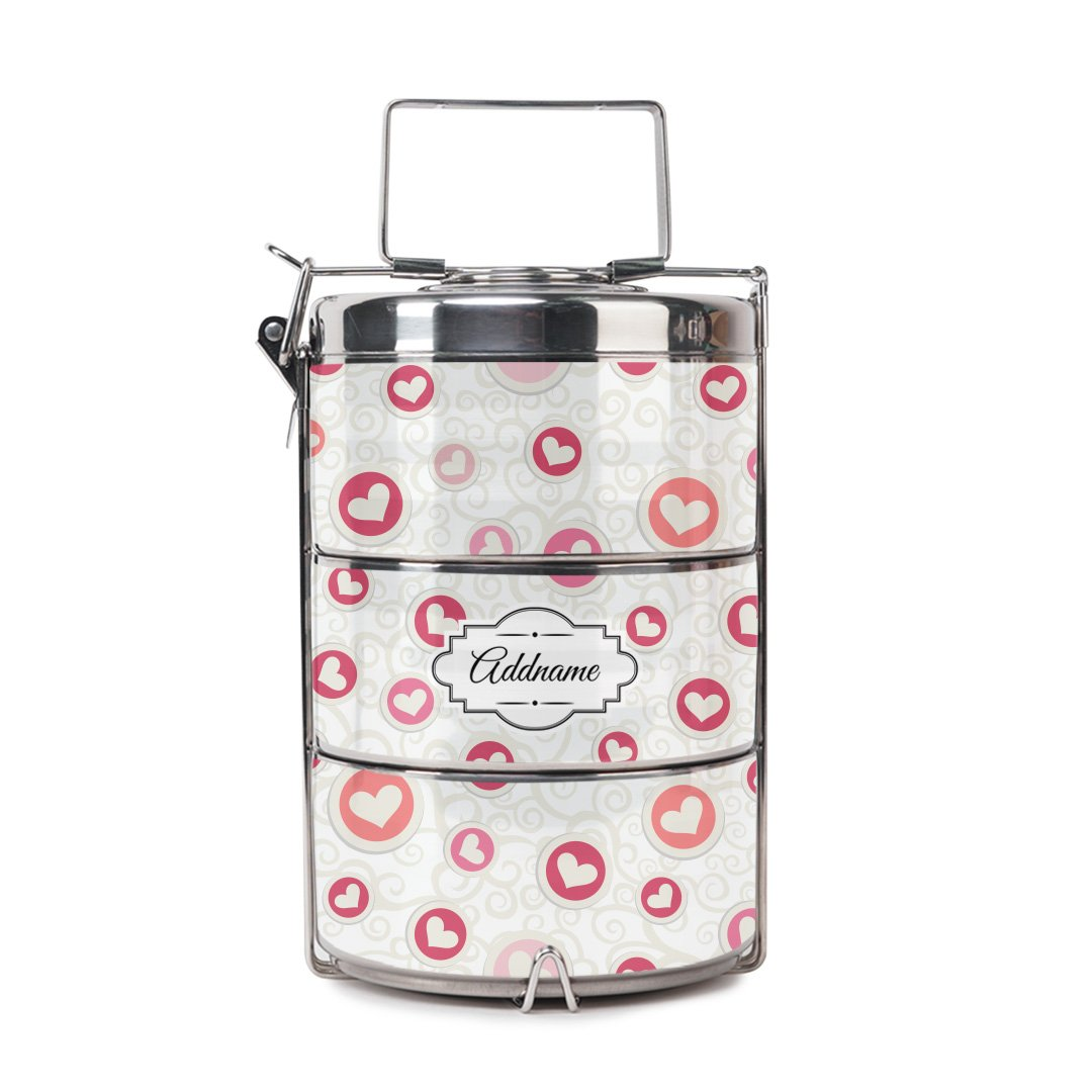 Flying Hearts Tiffin Carrier