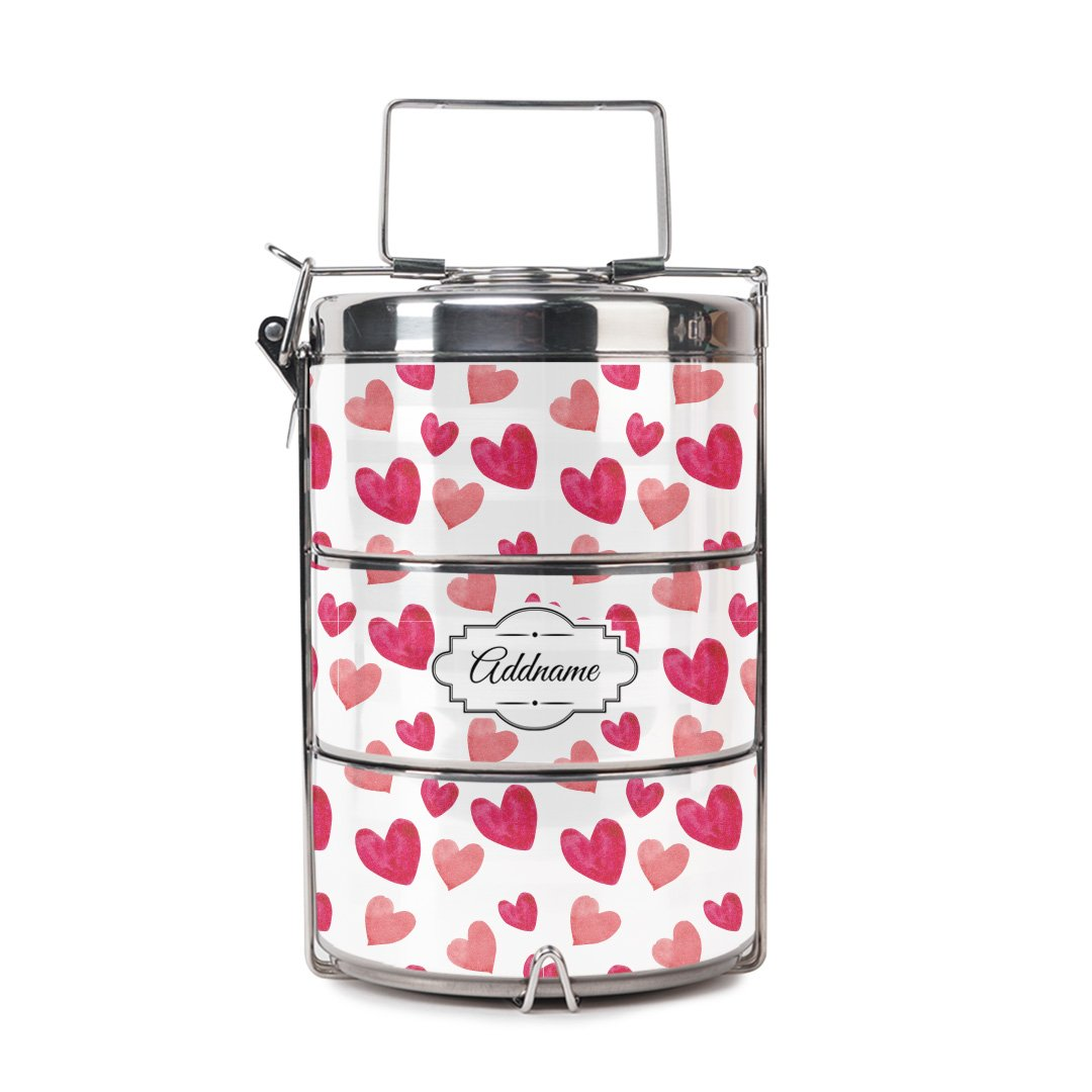 Lovely Pattern Tiffin Carrier