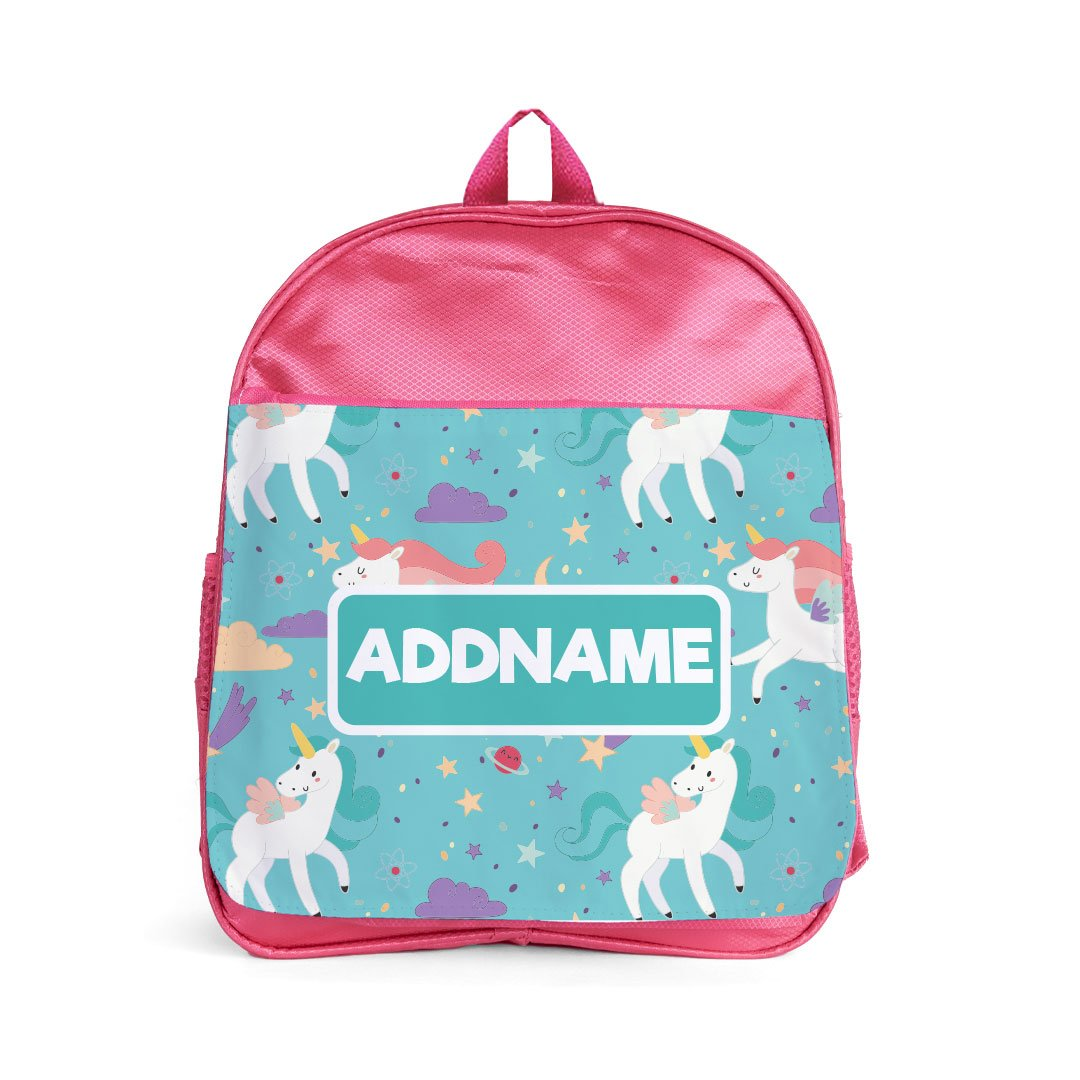 Famsy Fabulous Unicorn Pink Kiddies Bag