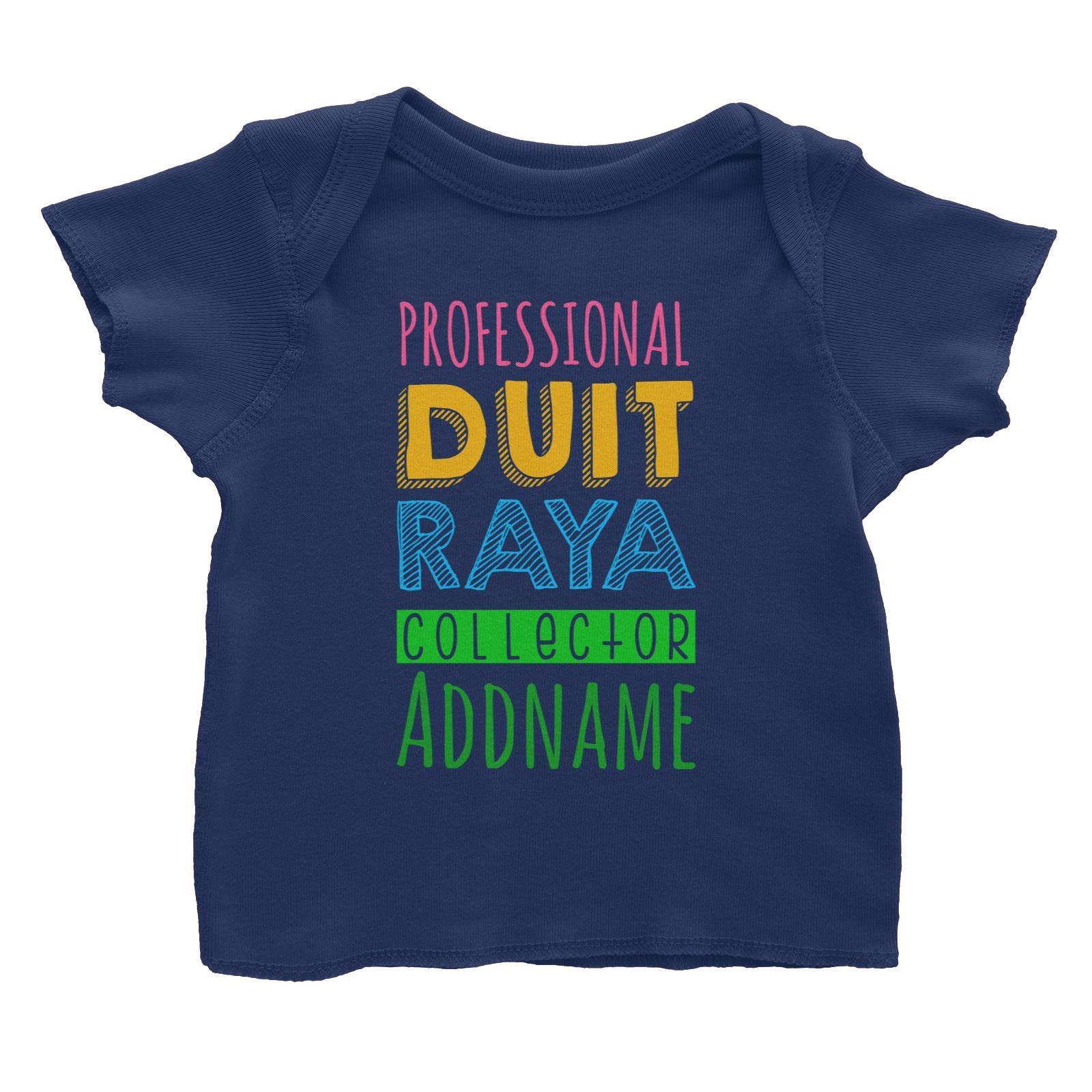 Professional Duit Raya Collector Baby T-Shirt  Personalizable Designs