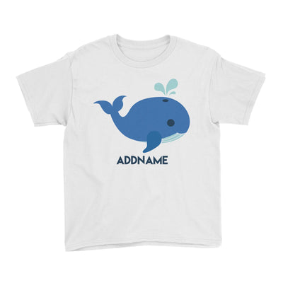 Sailor Whale Addname Kid's T-Shirt  Matching Family Personalizable Designs
