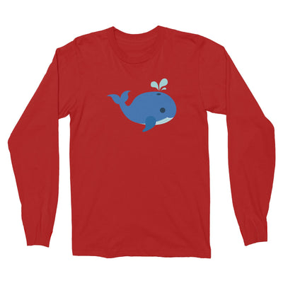Sailor Whale Long Sleeve Unisex T-Shirt  Matching Family
