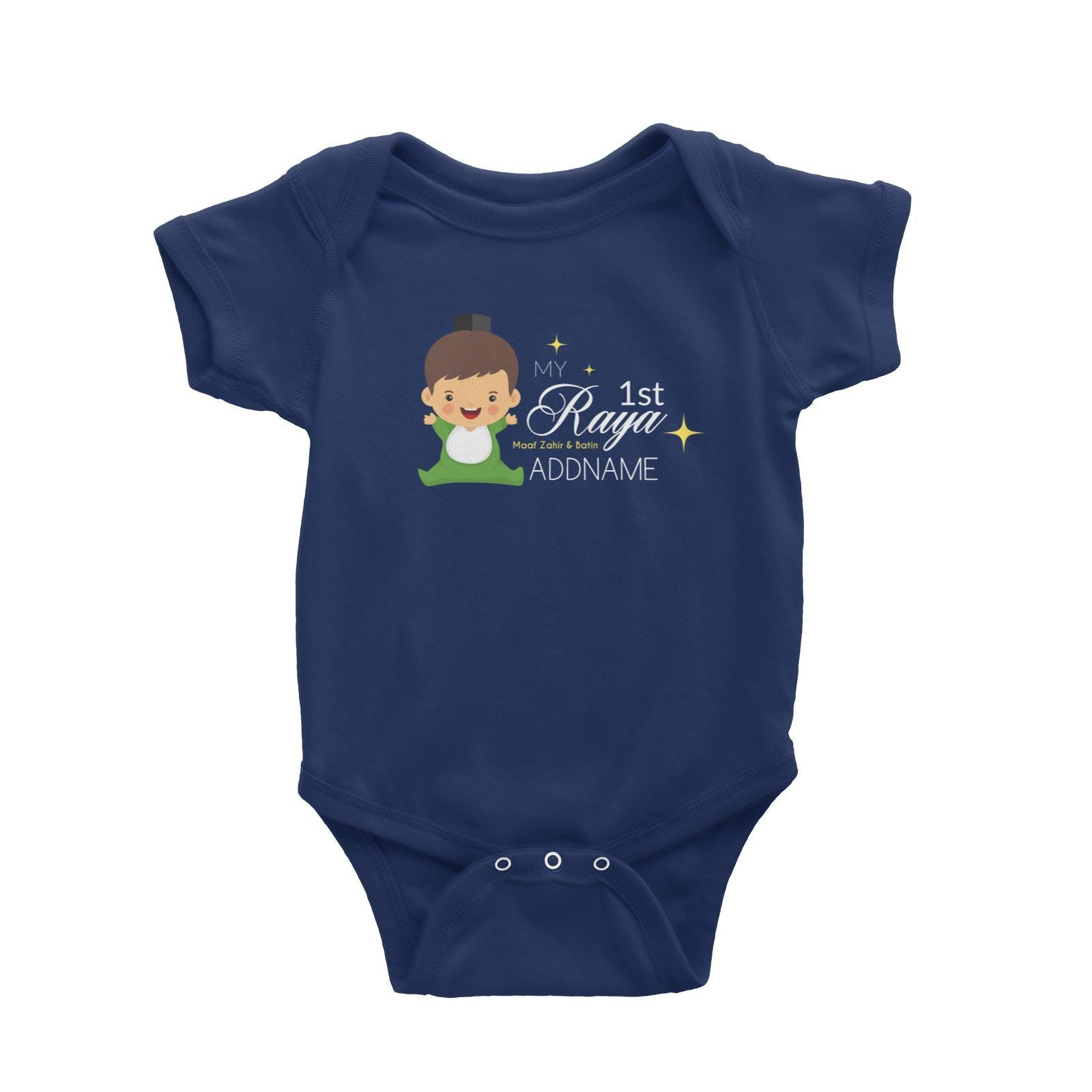 My 1st Raya Baby Boy Baby Romper  Personalizable Designs Sweet Character
