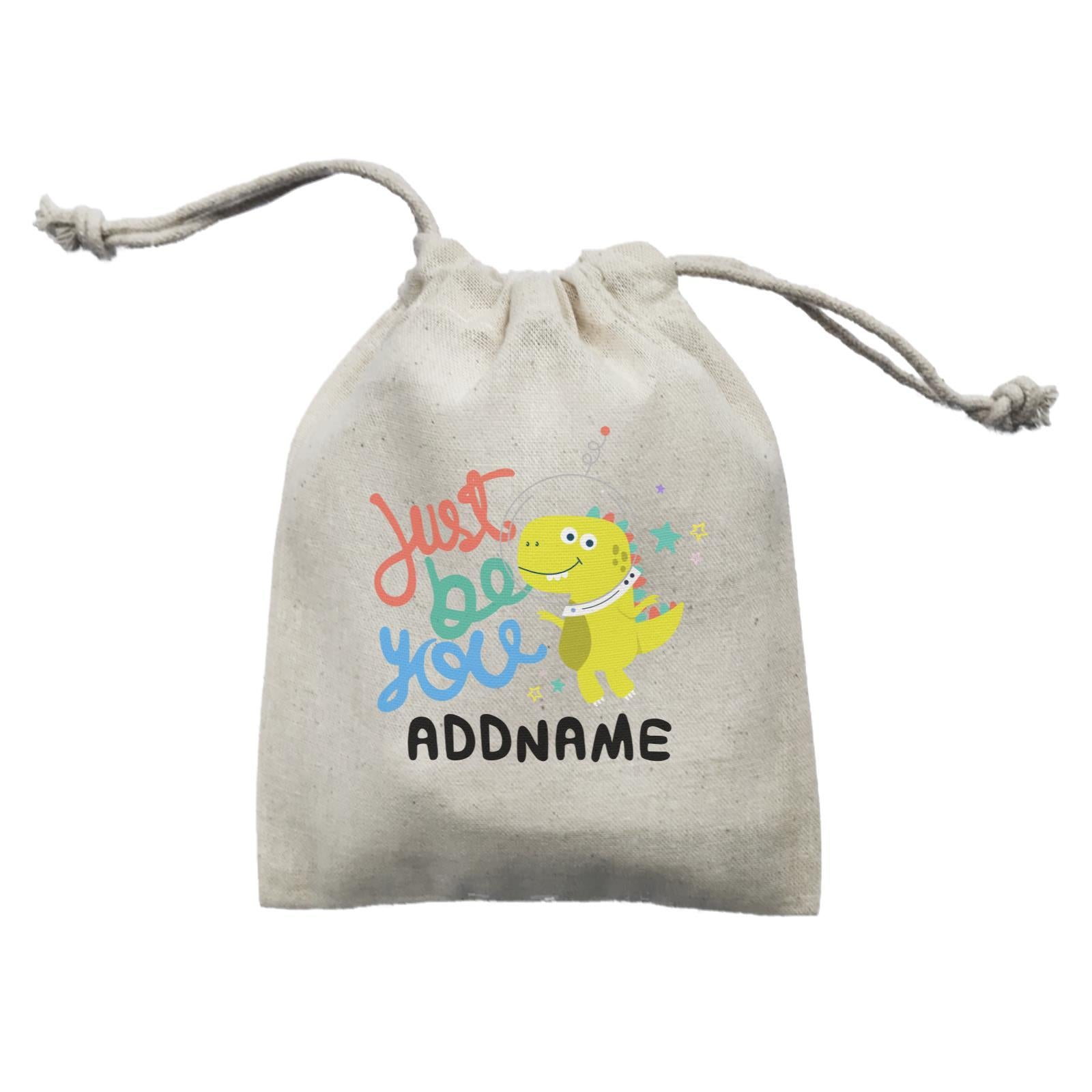 Children's Day Gift Series Just Be You Space Dinosaur Addname  Mini Pouch
