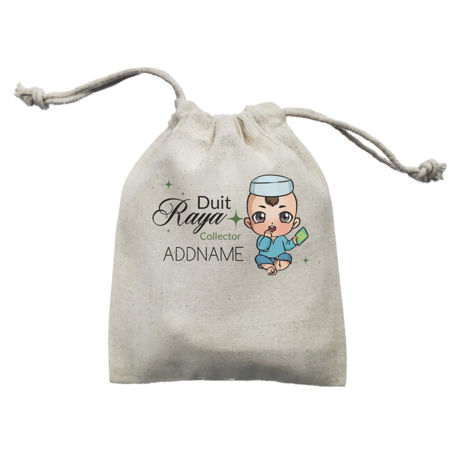 Raya Chibi Baby Baby Boy Duit Raya Collector Addname Mini Accessories Mini Pouch