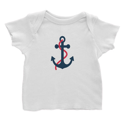 Sailor Anchor Red Baby T-Shirt  Matching Family