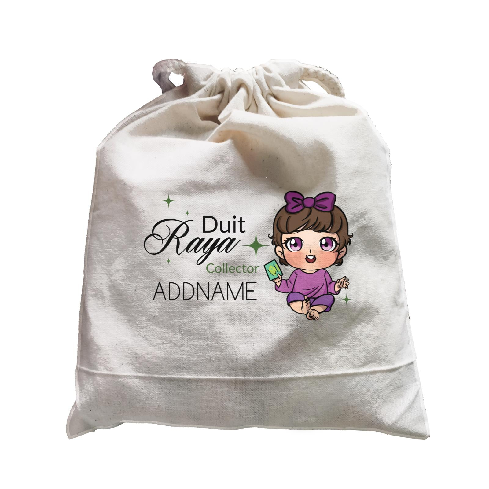 Raya Chibi Baby Baby Girl Duit Raya Collector Addname Accessories Satchel