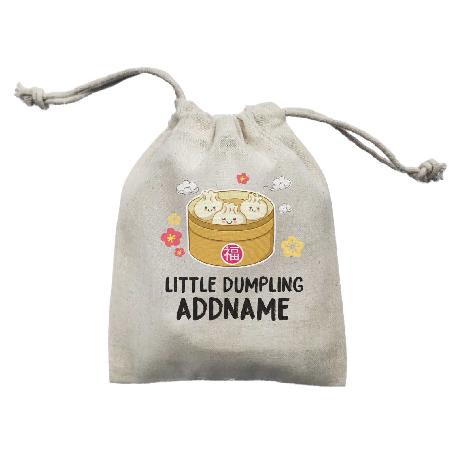 Chinese New Year Little Dumpling Mini Accessories Mini Pouch