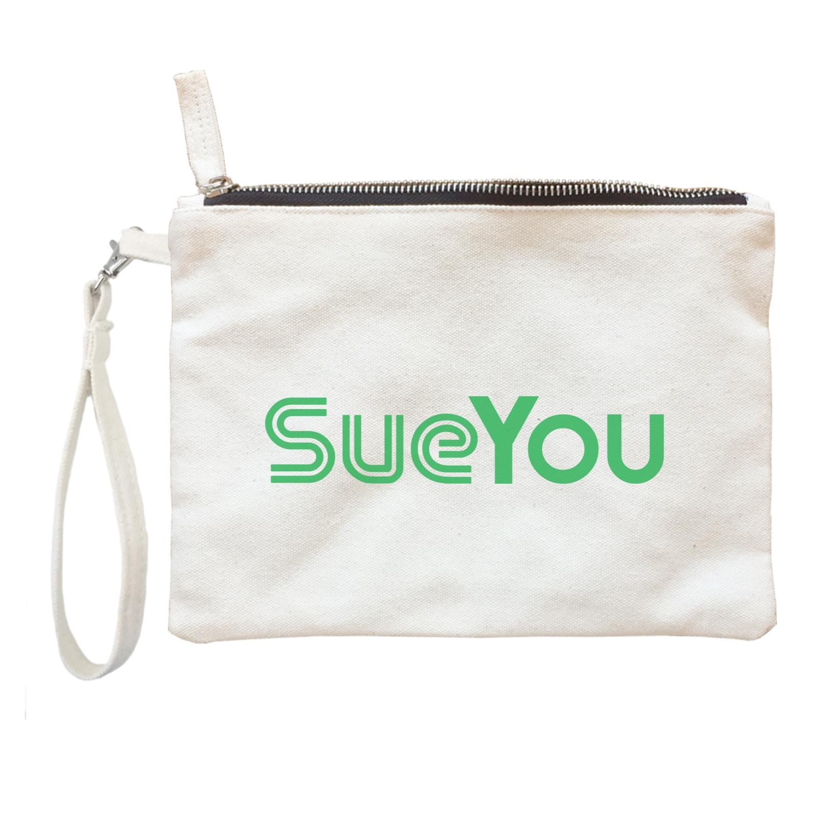 Slang Statement SueYou Accessories Zipper Pouch with Handle