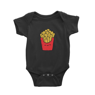 Fast Food Fries Baby Romper  Matching Family Comic Cartoon