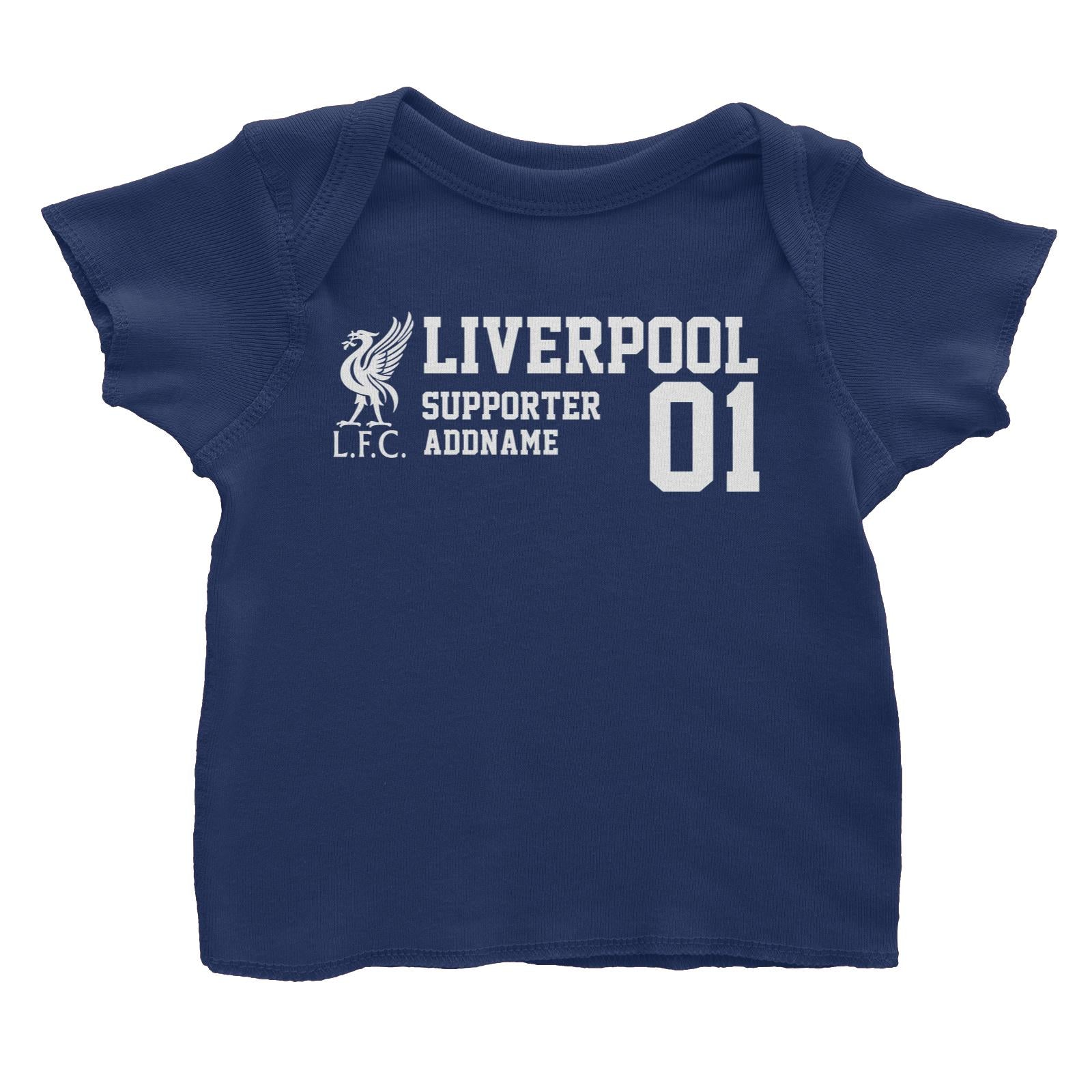 Liverpool Football Supporter Addname Baby T-Shirt