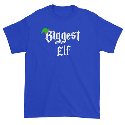 Biggest Elf With Hat Unisex T-Shirt Christmas Matching Family