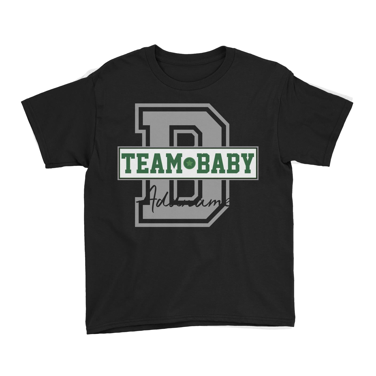 Team Baby Addname Kid'sT-Shirt