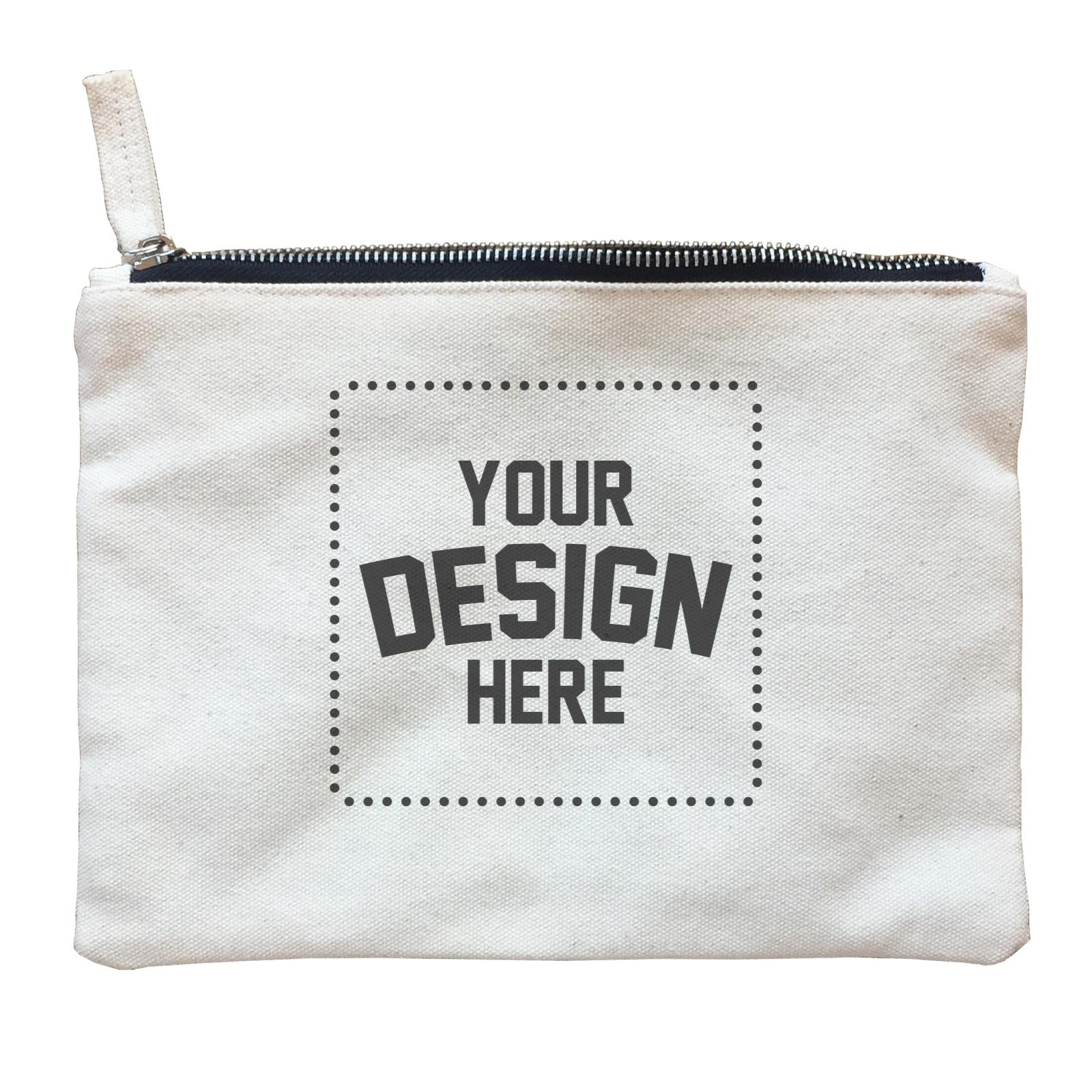 Custom Your Own Design Zipper Pouch