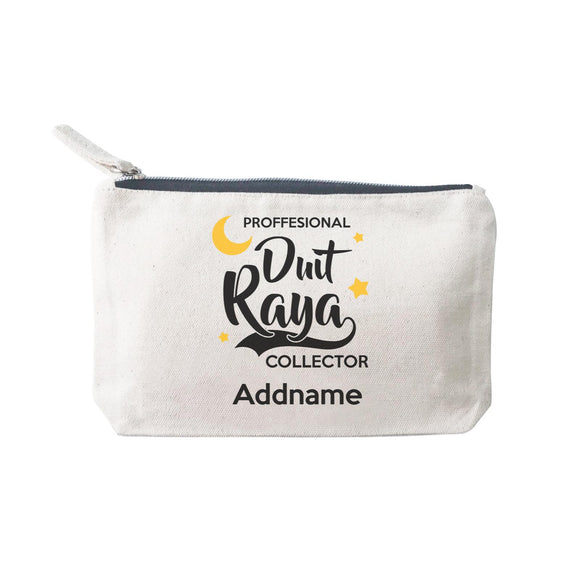 Raya Typography Professional Duit Raya Collector Addname Mini Accessories Stationery Pouch 2