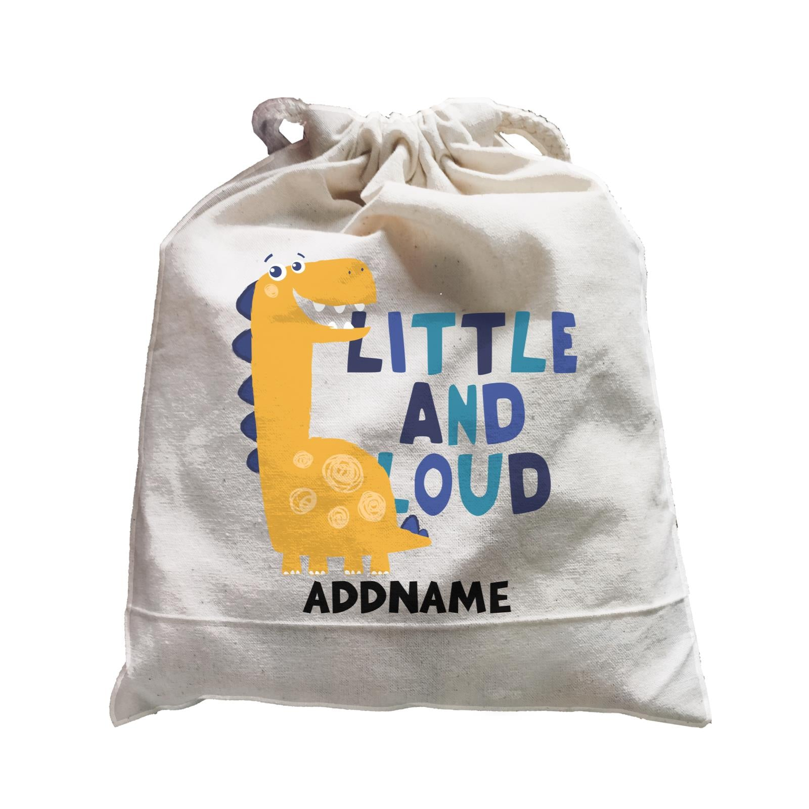 Little and Loud Dinosaur Addname Bag Satchel