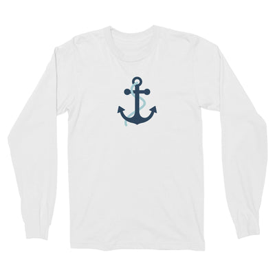 Sailor Anchor Blue Long Sleeve Unisex T-Shirt  Matching Family Personalizable Designs