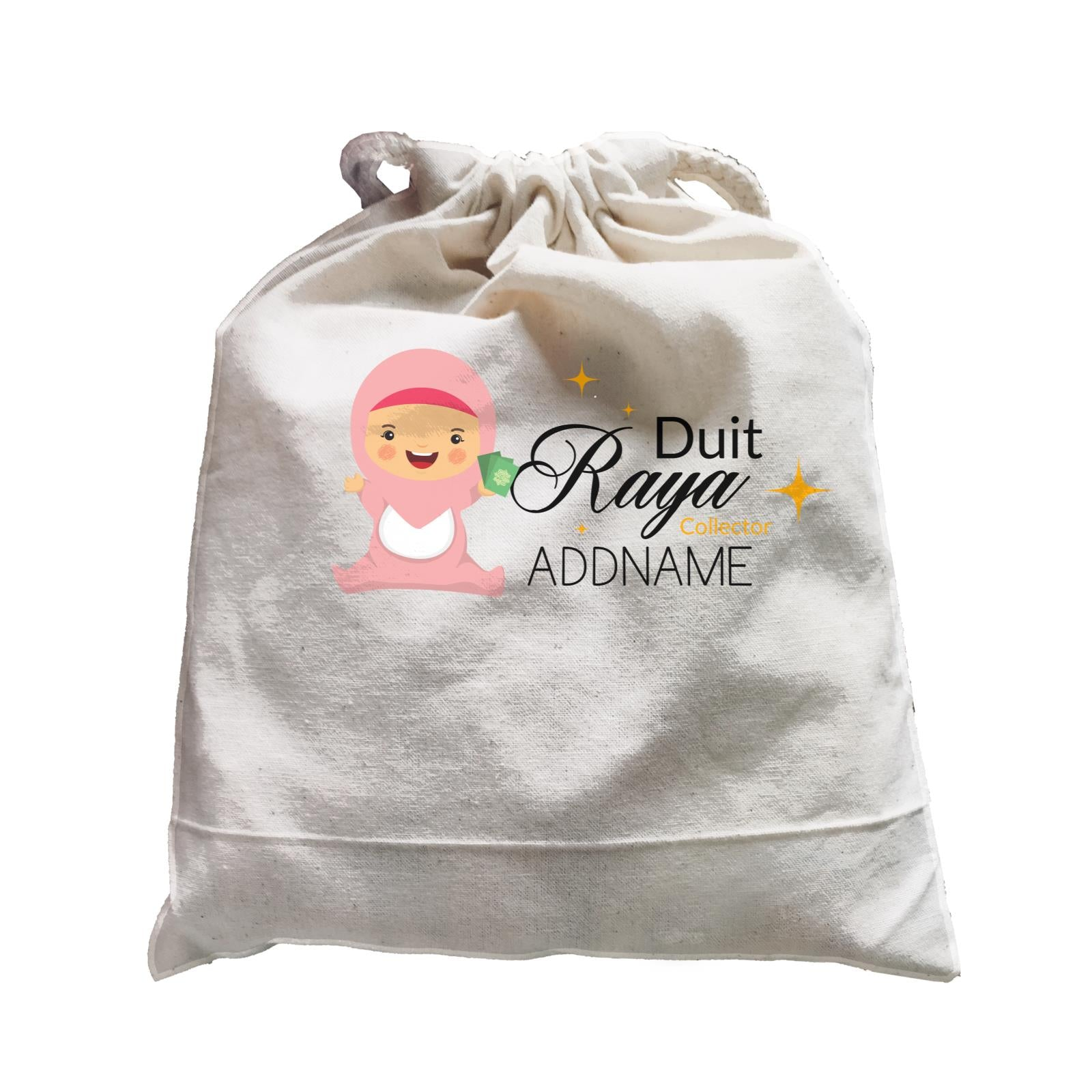 Duit Raya Collector Baby Girl Satchel  Personalizable Designs Sweet Character