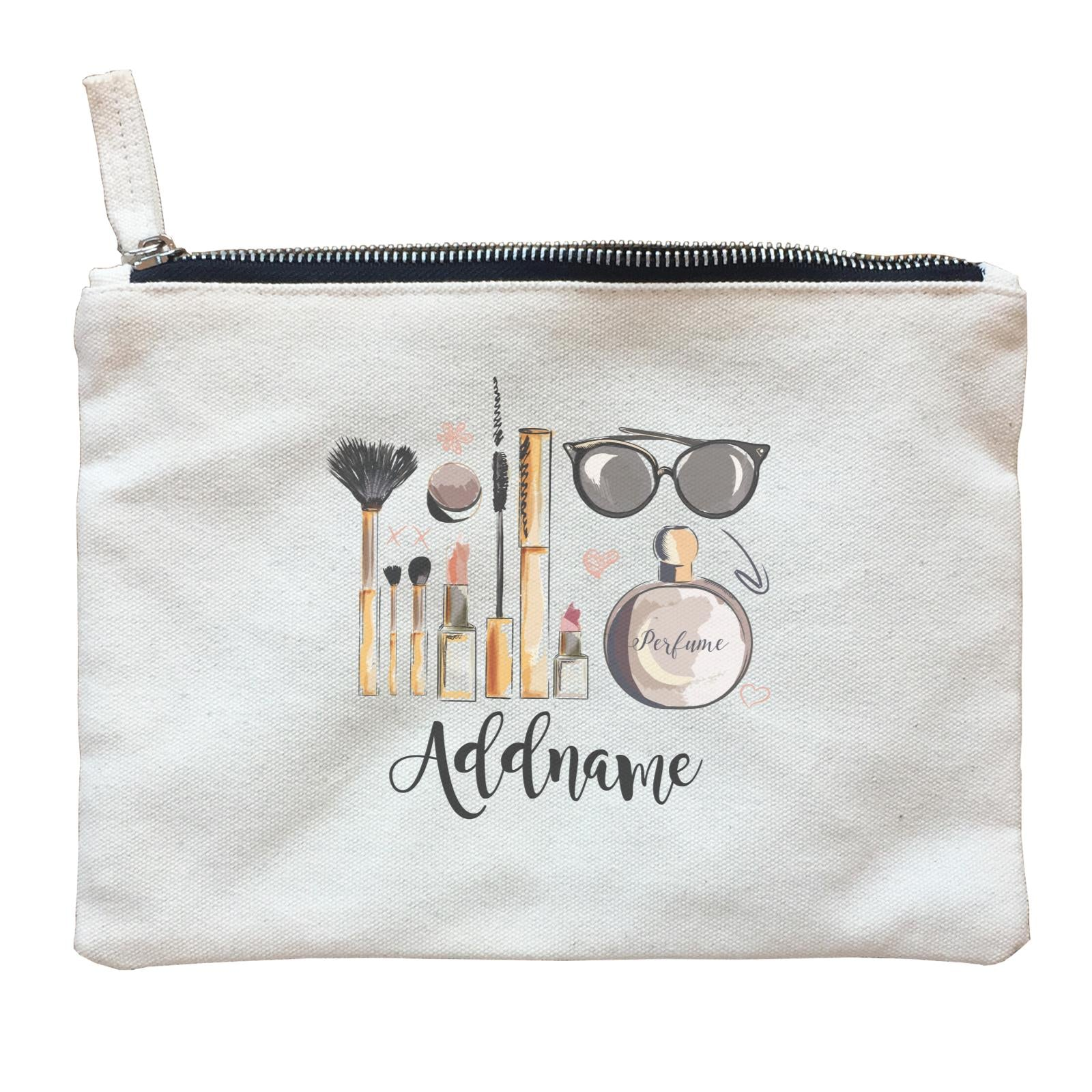 Make Up Quotes Beauty Kit Addname Zipper Pouch