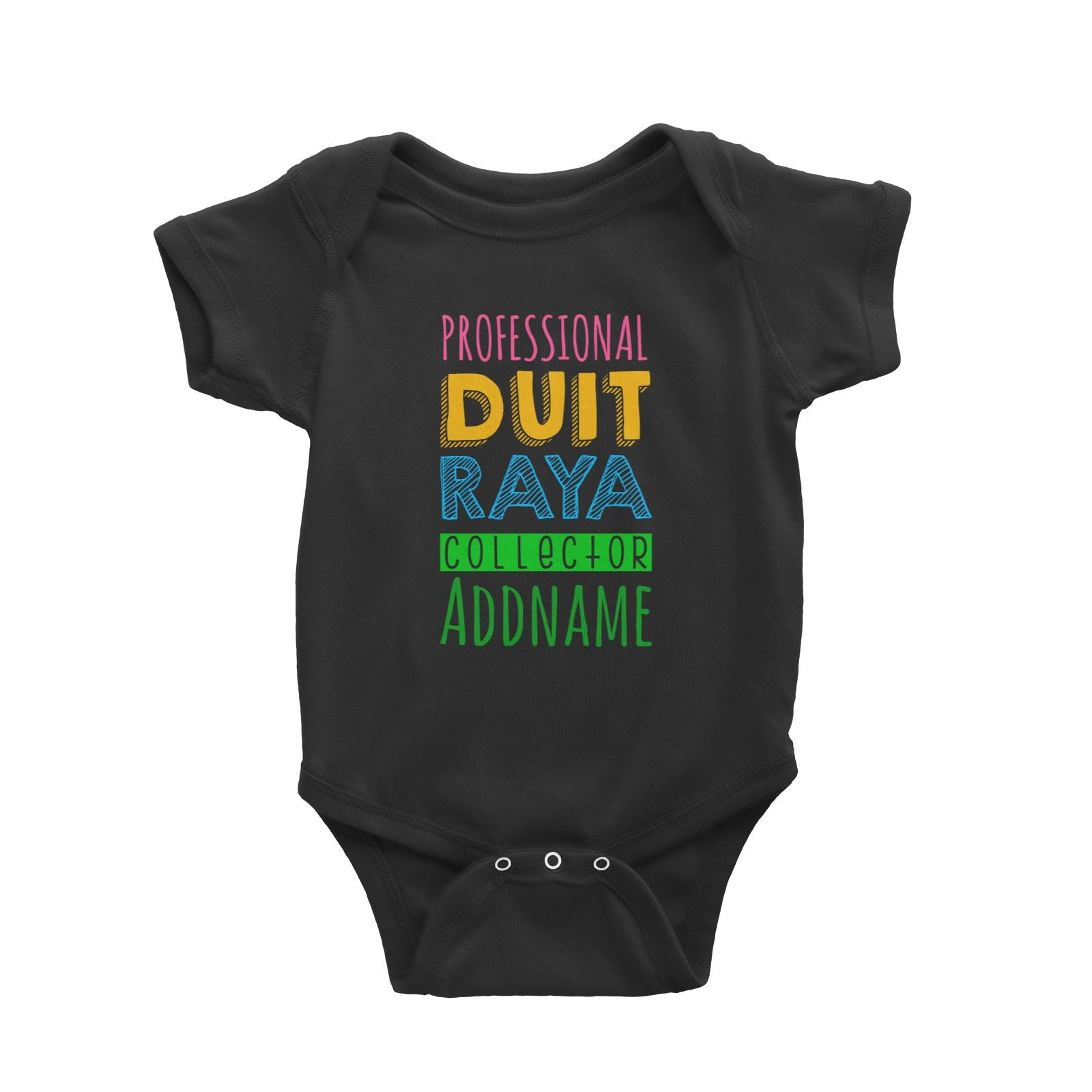 Professional Duit Raya Collector Baby Romper  Personalizable Designs