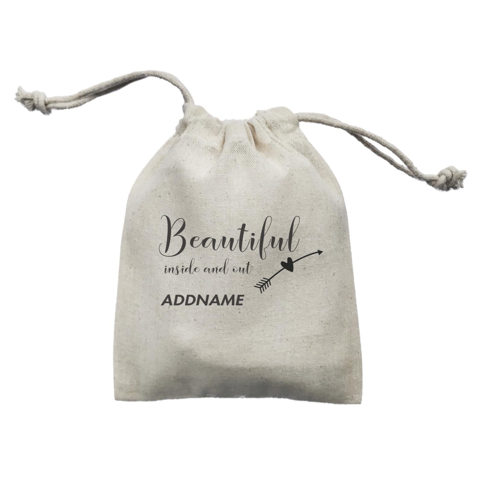Make Up Quotes Beautiful Inside And Out Addname Mini Accessories Mini Pouch
