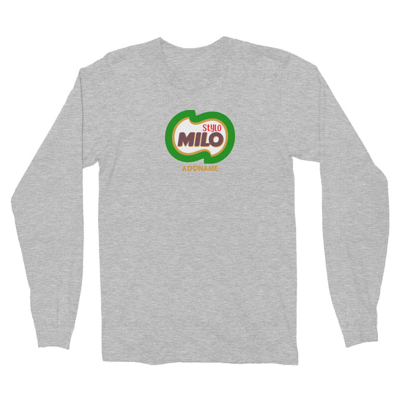 Stylo Milo Long Sleeve Unisex T-Shirt