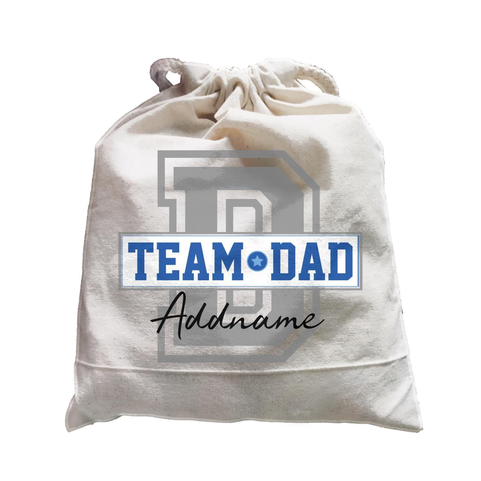 Team Dad Addname Satchel