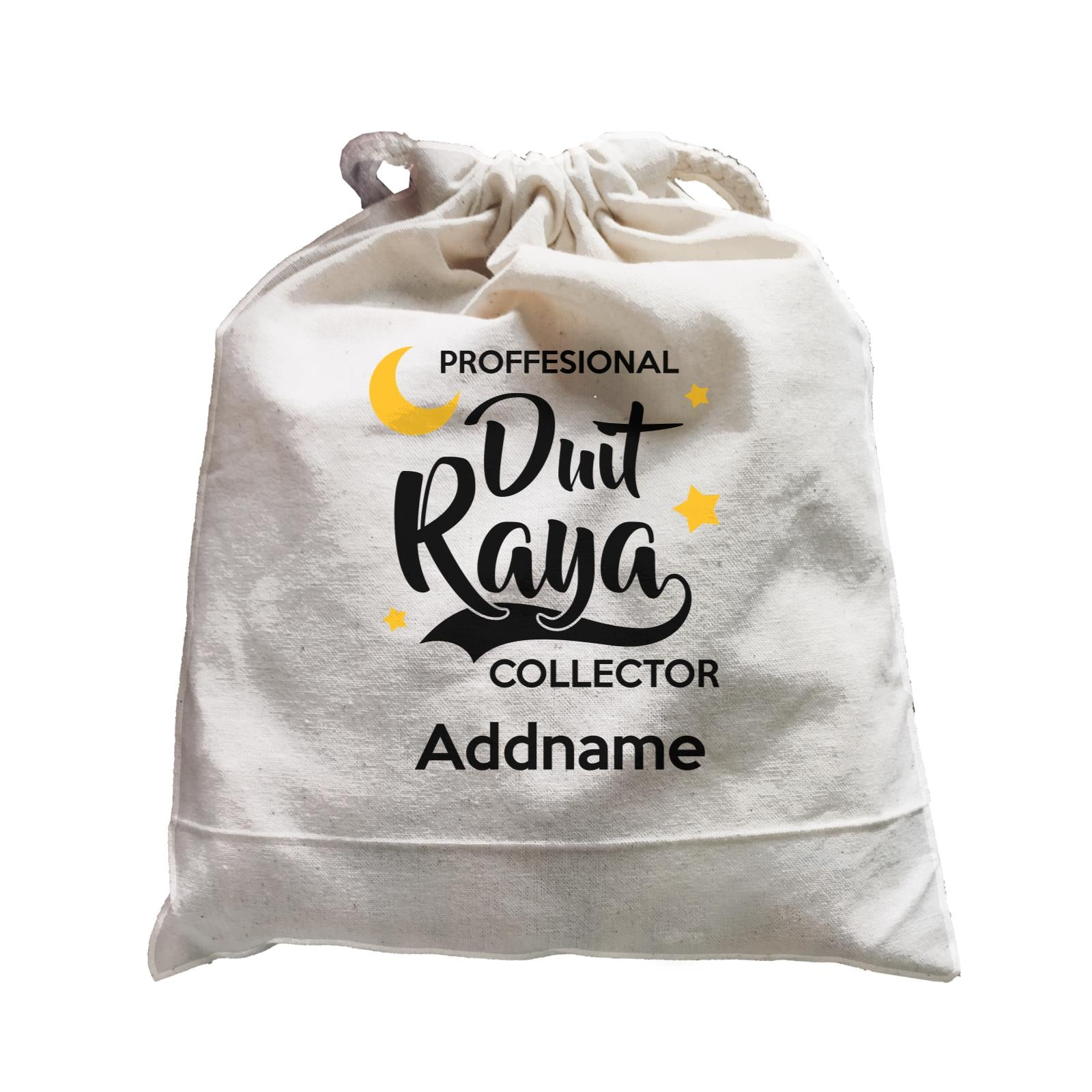 Raya Typography Professional Duit Raya Collector Addname Accessories Satchel